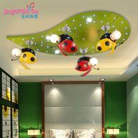 Wholesale Creative Modern children s bedroom children s room lamp lighting fixtures Ceiling cartoon boy and girl princess room lights