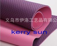 Wholesale DHL high quality TPE YOGA mat cm cm