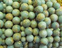 aqua terra jasper beads - High Quality strands mm Natural Aqua Terra Jasper gemstone Round Ball rainbow jewelry beads