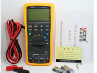 analog signal processing - VICTOR multi process calibrator multimeter to measure output voltage and current signals analog transmitters VC78