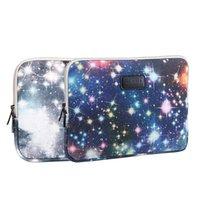 Wholesale Starry sky Laptop Sleeve quot inch Canvas Laptop Bag Cases Fashion Notebook Bag Bolsa Para Notebook Funda Portatil