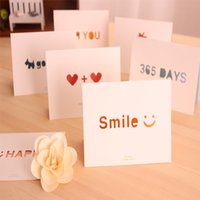 Wholesale 20 Mini Festival Greeting Card Theme Paper Romantic Postcards Gift Blank Birthday Post Cards With Envelope