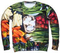 beans tomatoes - 2015 new fashion men women autumn winter d sweatshirts printed Vegetable tomato chili beans hoodies sweatshirts