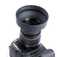 Wholesale 2pcs mm stage Rubber Lens Hood for Can amp n Nik amp n S amp ny Sigma Tamron Minolta Olympus55 lens to wordwide