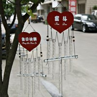 Wholesale F2111 AM038 inspirational chimes classmates and friends gifts birthday gifts metal crafts ornaments