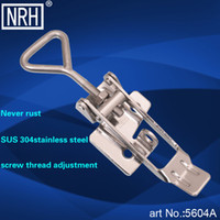 Wholesale NRH A SUS304 stainless steel latch clamp Factory direct sales Wholesaleprice high quality Heavy duty adjustable toggle Clamp