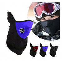 bicycle neck warmer - Neoprene Snowboard Ski Cycling Face Mask Neck Warmer Bike ski mask Bicycle Face Mask mixed colors