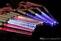 Venta caliente Juguetes de Navidad Glow Sticks Cheer LED acrílico burbuja flash Varita Para Juguetes para niños de conciertos de Disco Bar Party Supplies