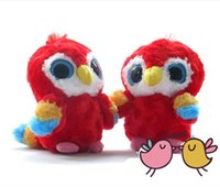 aurora bearings - Aurora Plush doll Yoohoo animal toys for children Scarlet Macaw toy quot Lora Big eyes parrot gift toy hot sale freeshipping