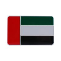 arab cars - Car Styling D Aluminum United Arab Emirates Flag Car Sticker Decal Emblem For Car Body Exterior Decoration