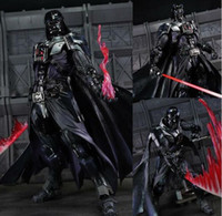Wholesale Star Wars Action Figure Toys Revoltech Darth Vader Jedi SWG Collection Model Brinquedos cartoon PVC Action Figure mock up gift