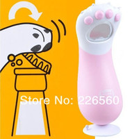 Wholesale Pieces Cat Claw Bottle Opener Handheld Cat Kitty Paw Bottle Opener with Flat Base