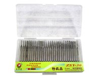 Wholesale 30pcs set cnc drilling kits cutter for engraver machine