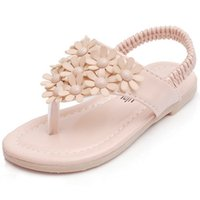 Wholesale new sping summer Babys Kids girls flat sandals shoes ZZ