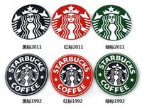 Wholesale Fashion starbucks coaster cup mat mermaid design Creative household heat non slip silicone cup mat