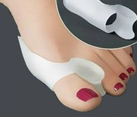 Wholesale Silicone Gel Toe Outer Separator Stretchers Bunion Straightener Insole Feet Care Spreader Toe Hallux Valgus Corrector Feet Care Hot sale DY