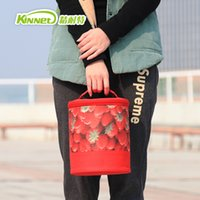 aluminum refrigerator - Drums Ice Pack High Capacity Portable Aluminum Lunch Cooler Thermal Bag Fridge Refrigerator Insulation Bags
