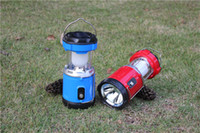 Wholesale Great Outdoor Lantern Camping Super Bright Collapsible Light Solar Charging LED Camping Lights With USB Port