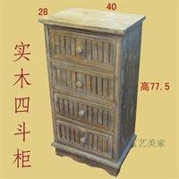 all'ingrosso console table-Legno retrò legno rustico quattro cabinet secchio francese a fare il vecchio piccoli mobili comodino console armadio decorato con sof