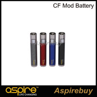authentic coat - Aspire CF Mod Authentic Aspire CF Battery Electronic Cigarettes Mods for Sub ohm Atomizer With Carbon Fiber Coated Tube