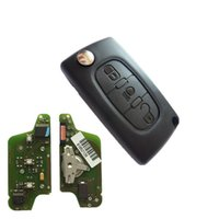 ask models - Peugeot Button Flip remote key with mhz with quot light quot button ASK model