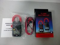 amp probe - Volt Amp Ohm Meter Multimeter Digital Clamp Meter w Test Probe Leads Red Black