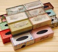 automotive japan - lovely creative metal tissue boxes European automotive fashion pumping carton