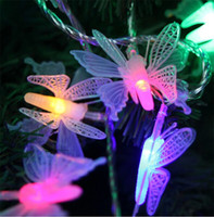 Holiday balcony netting - Fairy Christmas tree outdoor garden balcony decoration m stereo butterfly LED holiday lights string Romantic LED decorative lighting