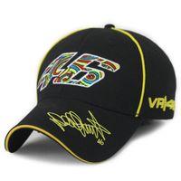racing sports caps - Snapback Caps Rossi Embroidery Baseball Cap Hat Motorcycle Racing Cap VR46 Sport Baseball Cap For Men