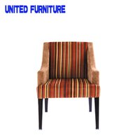 Wholesale Bennett roll back fabric armchair fabric exquisite sofa dining chair modern fabric dining room chairs YJ