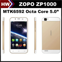 Cheap ZP1000 MTK6592 Octa Core Best 5.0 inch Cell Phone Android 4.2