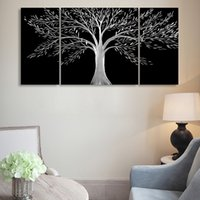 Wholesale Fashion Wedding decoration metal wall art aluminum painting metal tree wall decoration wall pictures for living room