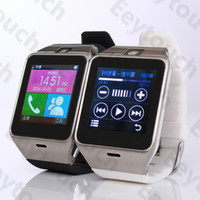 Wholesale 2015 New GV18 Smart Watch Wireless Bluetooth Smart Watch With Camera Waterproof Smart Wrist Watch For Android Phone Smartphones
