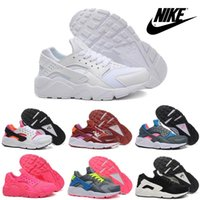 Wholesale Nike Air Huarache Women s Running Shoes Cheap Lightweight fashion Sneaker Breathable Jogging Shoes Women Sports Shoes New