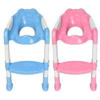Wholesale 2015 PC Baby Toddler Kids Potty Toilet Training Safety Adjustable Ladder Seat Chair Step order lt no track