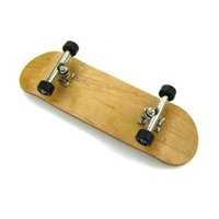 Wholesale Professional Maple Wood Finger Skateboard Alloy Stents Bearing Wheel Fingerboard Adult Novelty Items Children Toy fingerboard TY1357