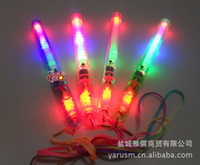 Wholesale LED Colorful Flash stick concert glow stick children s toys LED electronic wand to spread the goods hot children s toys