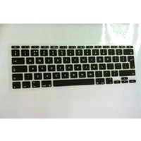 apple layouts - Silicone UK EU layout Keyboard Cover skin protector sticker protective film For Apple Mac book Air quot inch for macbook quot
