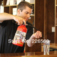 Wholesale Piece L Fire Extinguisher Drink Dispenser Novelty Drinking Dispensers