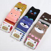 best foot warmers - Warmers Legging Striped Cotton Socks For Infant Baby Toddler Girl Boy children cute KID S BASIC Foot Sock best