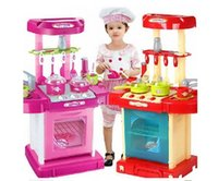 Wholesale New Pretend Play Toys Kitchen Set Toys Education Toy Children Kids Children s Role Play Toy Girl