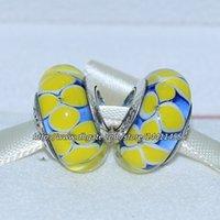 Cheap Glass Murano Glass Beads Best Flowers Yellow glass beads