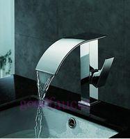 bathroom vanities for vessel sinks - cheap bathroom brass basin faucet waterfall vessel sink mixer vanity tap water taps for deck hot and cold european