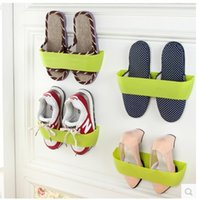 Wholesale Shoe supports creative ve touched the wall shoe rack stereo composite shoe rack DIY shoe rack shoes storage rack