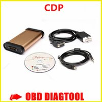 autocom - 2015 Bluetooth Golden CDP Car diagnostic tool for AUTOCOM CDP Pro for cars trucks CDP pro with high quallity
