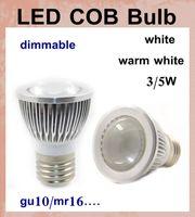 Wholesale Super Bright cob led downlight cob led e27 E14 GU10 GX5 MR16 w w high power warm white white china led bulb light led lamp DB002