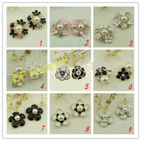 Wholesale mix style alloy embellishment for handmade hair accessory alloy buttons oval retail