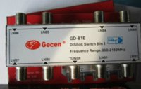 Wholesale Freeshipping GD E x1 DiSEqC Satellite Receiver TV LNB Switch lnb switch switch box for tv