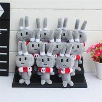 anime collection stuffed toys - 50pcs Anime Kantai Collection Shimakaze Rabbit Plush Pendants Keychain cut Soft Stuffed Doll cm