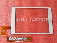 Wholesale 7 inch Touch Screen Digitizer Glass for AIRIS PB78A9211 White